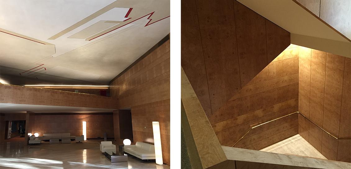 Reforma zona de entrada edificio bankinter madrid 2015 - Bankinter oficinas en madrid ...