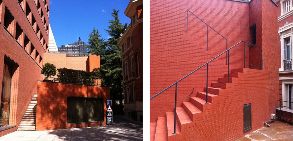 Actualizaci n interior y exterior edificio bankinter for Exterior edificios