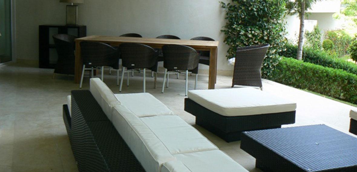 Dise o de mobiliario e interiorismo apartamento sotogrande - Arquitecto sotogrande ...